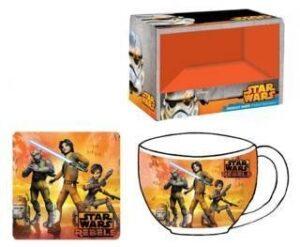 Set colazione tazza e sottotazza Star Wars Rebels