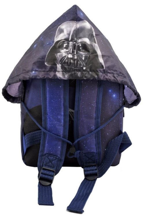 Zaino asilo Star Wars con cappuccio impermeabile
