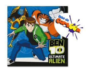 Tovaglioli per festa Ben 10 Ultimate Alien
