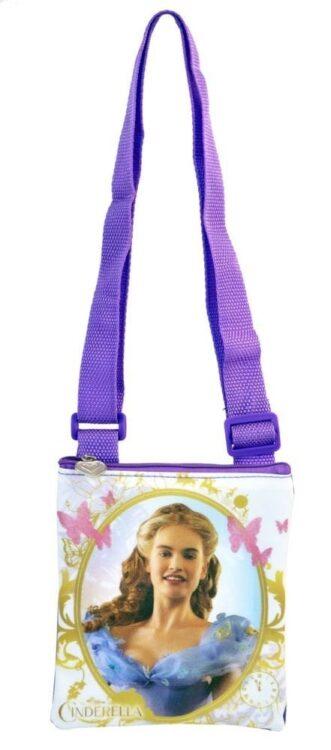 Set regalo borsetta + 2 clip con extension Cinderella Disney