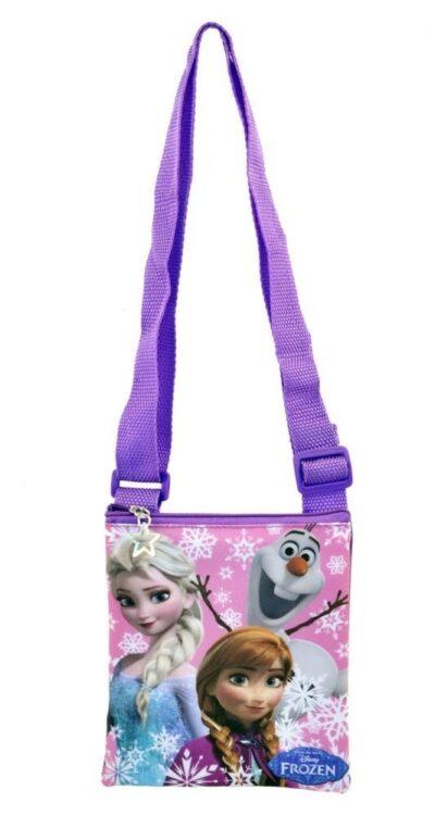 Set regalo borsetta + 2 clip con extension Disney Frozen