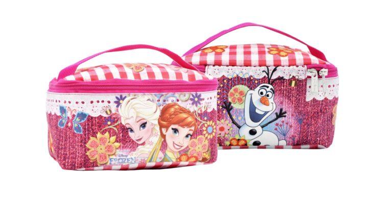 Beauty Case con maniglia Disney Frozen Glam Sisters