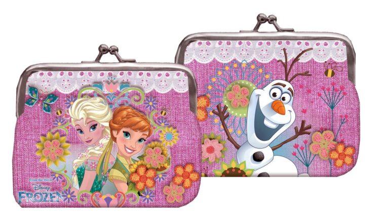 Borsellino portamonete Disney Frozen Glam Sisters