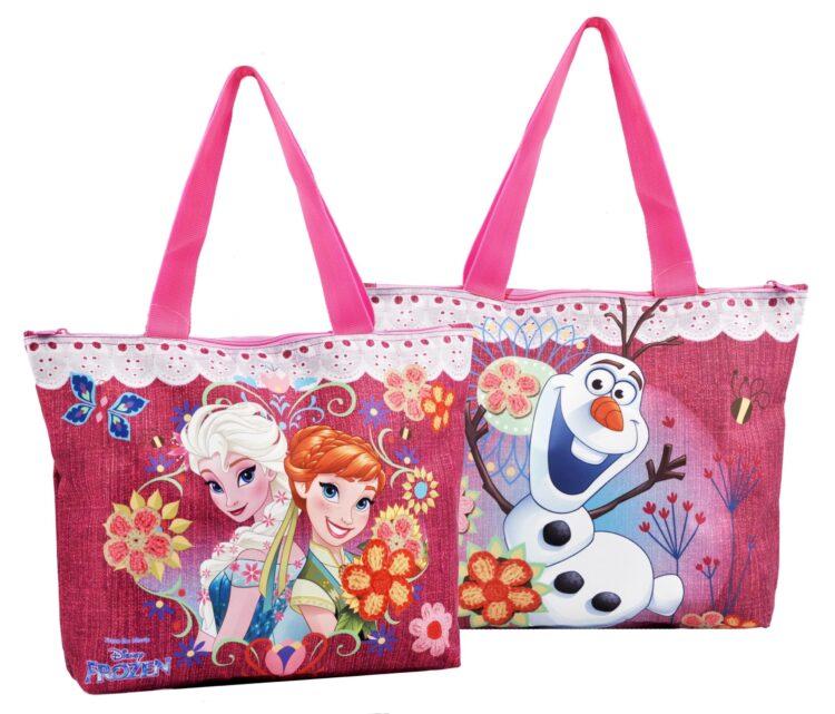 Borsa mare Disney Frozen Glam Sisters
