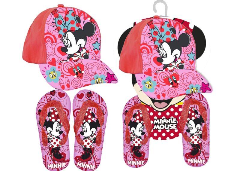 Set regalo Cappellino e infradito Disney Minnie