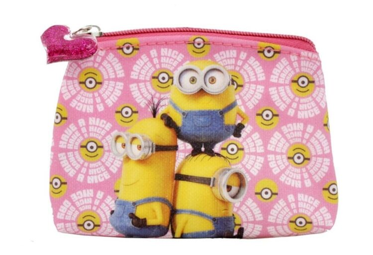 Set regalo borsetta e borsellino Minions