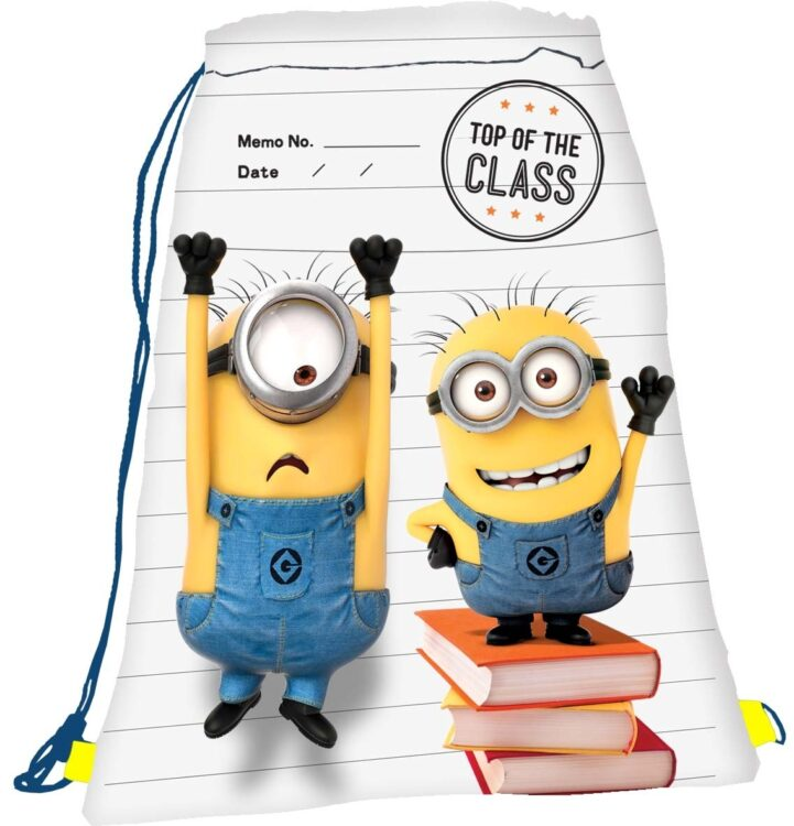 """Sacca sport Minions """"Top of the class"""""""