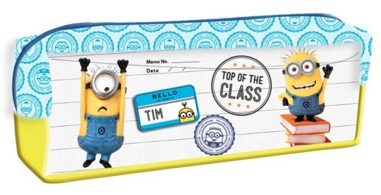 """Astuccio portatutto Minions """"Top of the Class"""""""