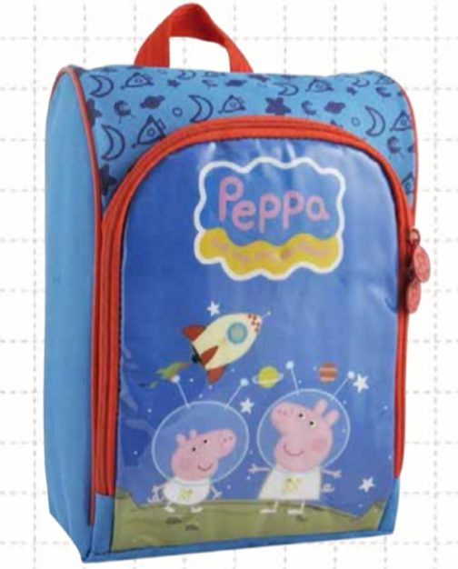 Borsa Peppa Pig e George Space