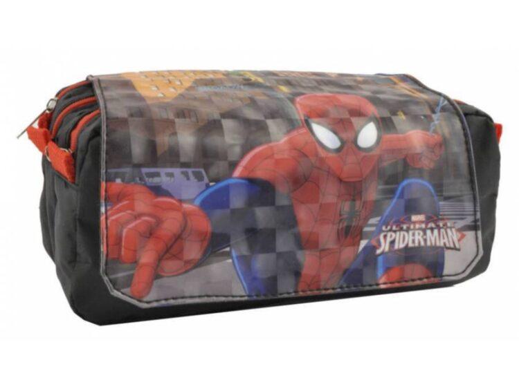 Astuccio 3 scomparti Spiderman