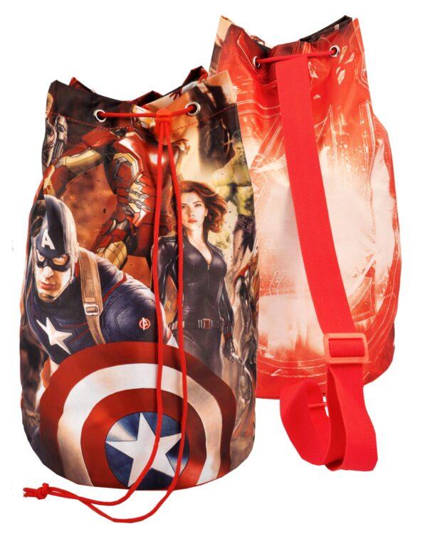 Zaino secchiello Marvel Avengers
