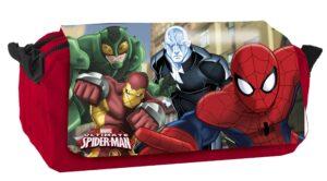 """Astuccio 3 scomparti Spiderman """"Incredible"""""""
