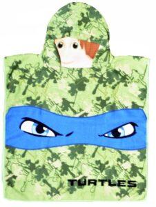 Accappatoio poncho Ninja Turtles