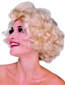 Parrucca bionda Marilyn