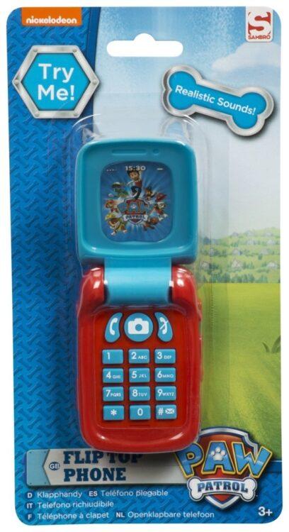 Telefono flip con suoni Paw Patrol