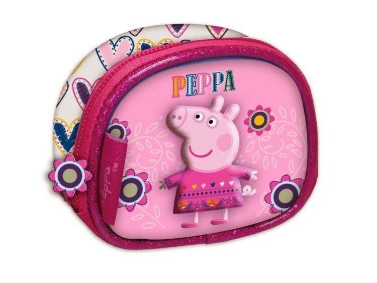 Portamonete 3D Peppa Pig Fiori