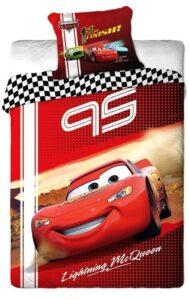 Parure copripiumino singolo Disney Cars 100% cotone