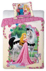 Parure copripiumino singolo Disney Princess Aurora 100% cotone