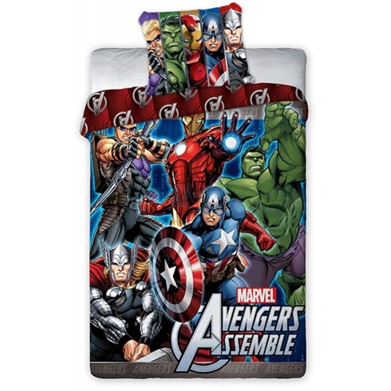 Copripiumino Singolo Avengers.Parure Copripiumino Singolo Avengers 100 Cotone Copripiumini E Bia