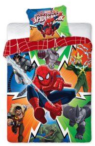 Parure copripiumino singolo Ultimate Spiderman 100% cotone