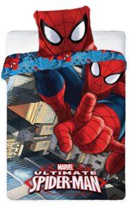 Parure copripiumino singolo Spiderman 100% cotone