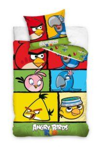 Parure copripiumino singolo Angry Birds 100% cotone