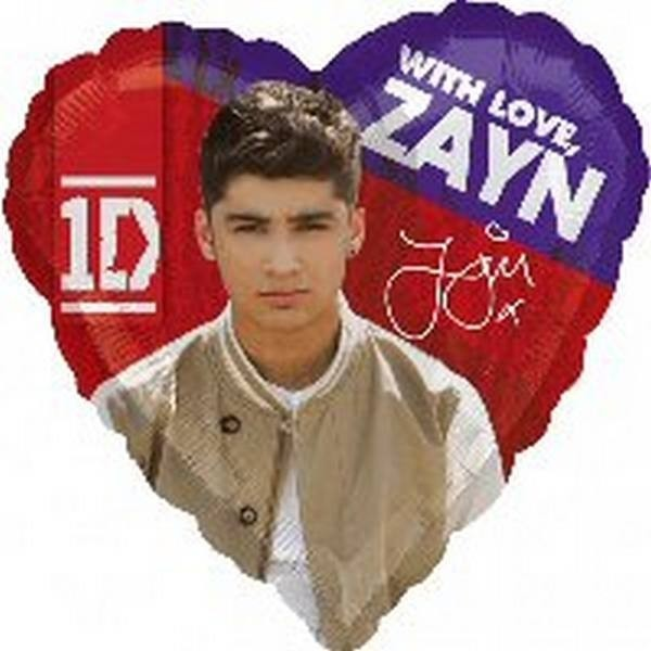 Palloncino a elio Zayn One Direction