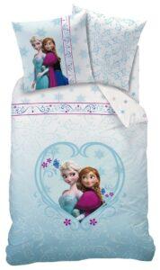 Parure copripiumino singolo Disney Frozen 100% cotone