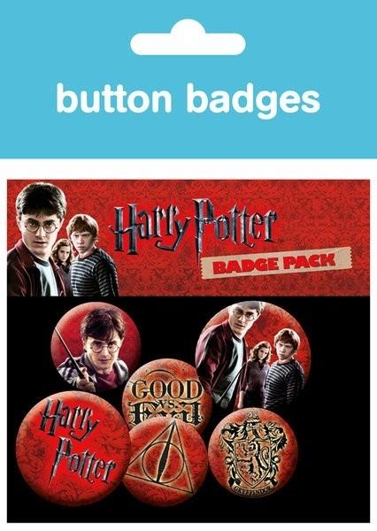 Harry Potter - Badge Pack