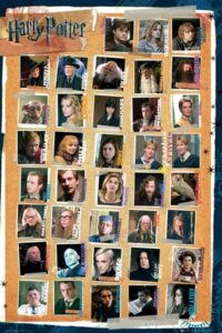"Harry Potter 7 Maxi Poster ""Personaggi"""