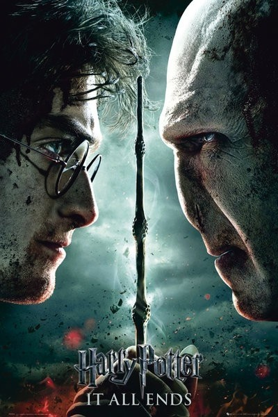 "Harry Potter 7 Maxi Poster ""Harry e Voldemort"""