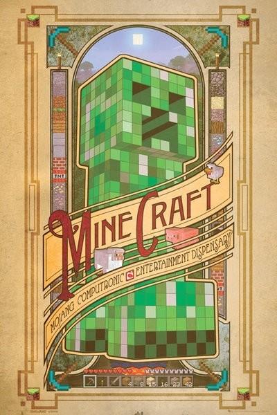 "Minecraft Maxi Poster ""Computronic"""
