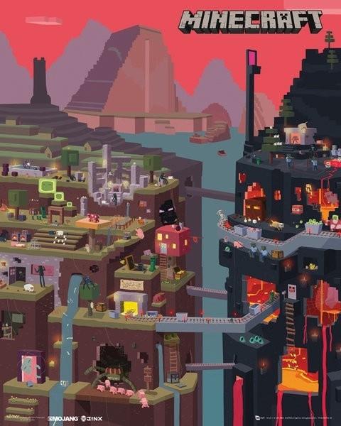 "Minecraft Maxi Poster ""World"""