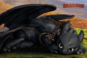 """Dragon Trainer Maxi Poster """"Dolce Sdentato"""""""