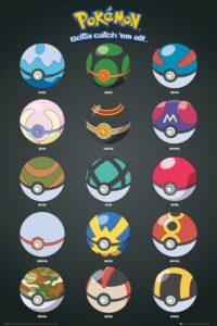 Maxi poster Pokémon - Pokeball