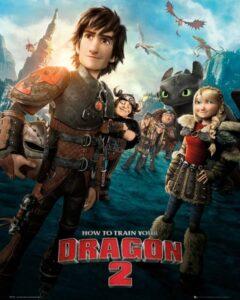 """Dragon Trainer Mini Poster """"Dragon Trainer 2"""""""