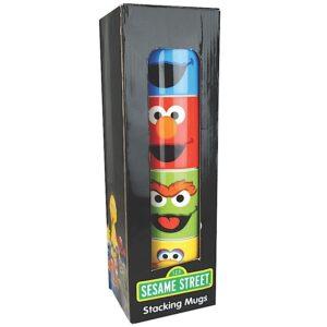 Set 4 tazze mug Sesame Street
