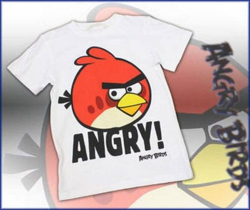 T-Shirt Angry Birds