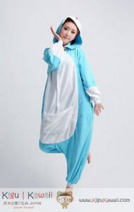Pigiamone intero adulto Kigurumi Doremon large