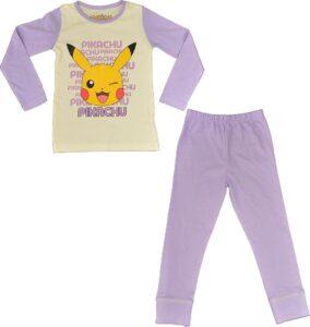 Pokemon - Pigiama manica lunga bambina Pikatchu