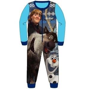 Pigiama intero felpato Disney Frozen Sven Olaf e Kristoff