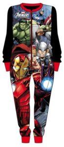 Pigiama intero felpato Marvel Avengers