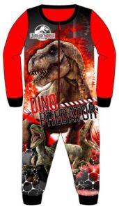 Pigiama intero felpato Jurassic World