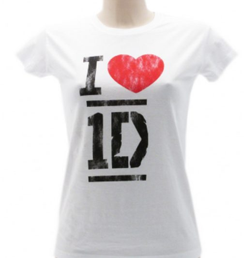 T-Shirt ' I love One Direction'