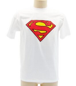 T-shirt bimbo Superman Logo