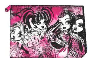 Astuccio Bustina rettangolare Monster High