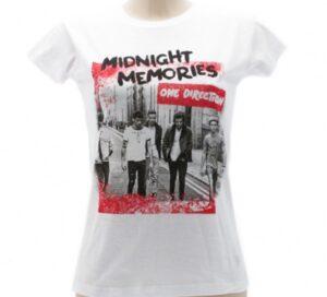 T-Shirt One Direction Midnight Memories