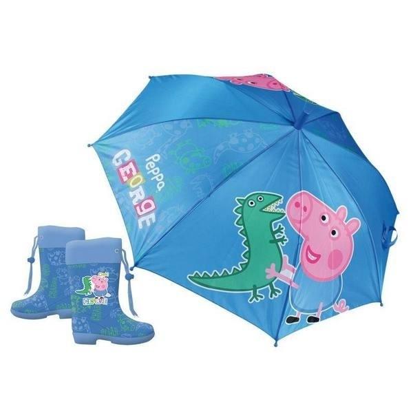 Set ombrello e galosce George