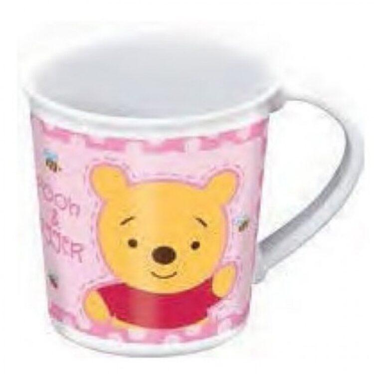 Tazza microonde Baby Winnie the Pooh rosa