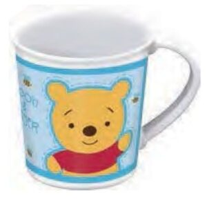 Tazza microonde Baby Winnie the Pooh celeste